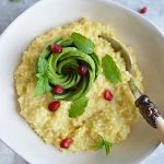 SUPER SIMPLE MILLET & AVOCADO PORRIDGE (GLUTEN FREE, DAIRY FREE, VEGAN, CANDIDA FRIENDLY)