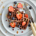 BEETROOT WAFFLES (GLUTEN FREE, DAIRY FREE, CANDIDA FRIENDLY)