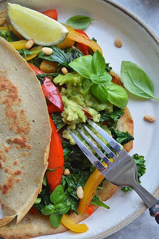 3-ingredient-gluten free-buckwheat wrap-2