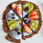 GRANOLA BREAKFAST PIZZA (GLUTEN FREE, VEGAN)