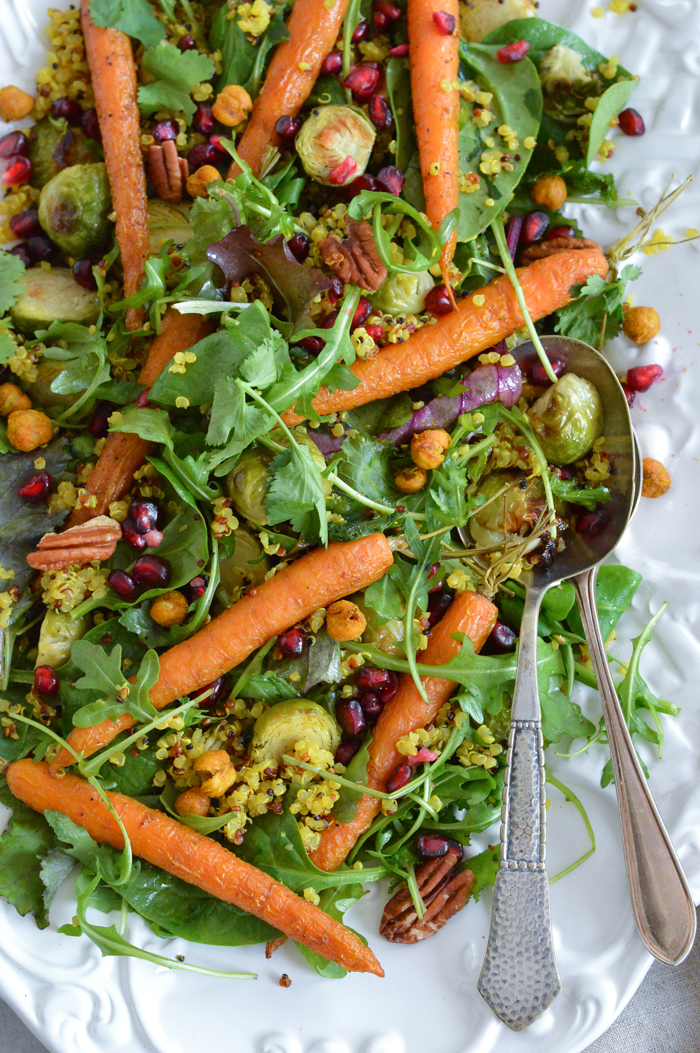 Moroccan festive #salad #vegan #glutenfree #healthyrecipe #festiverecipes | via @fit.foodie.nutter