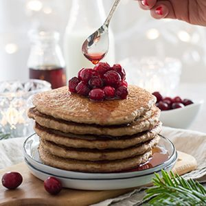 FAMILY FAVOURITE GINGERBREAD PANCAKES (VEGAN)