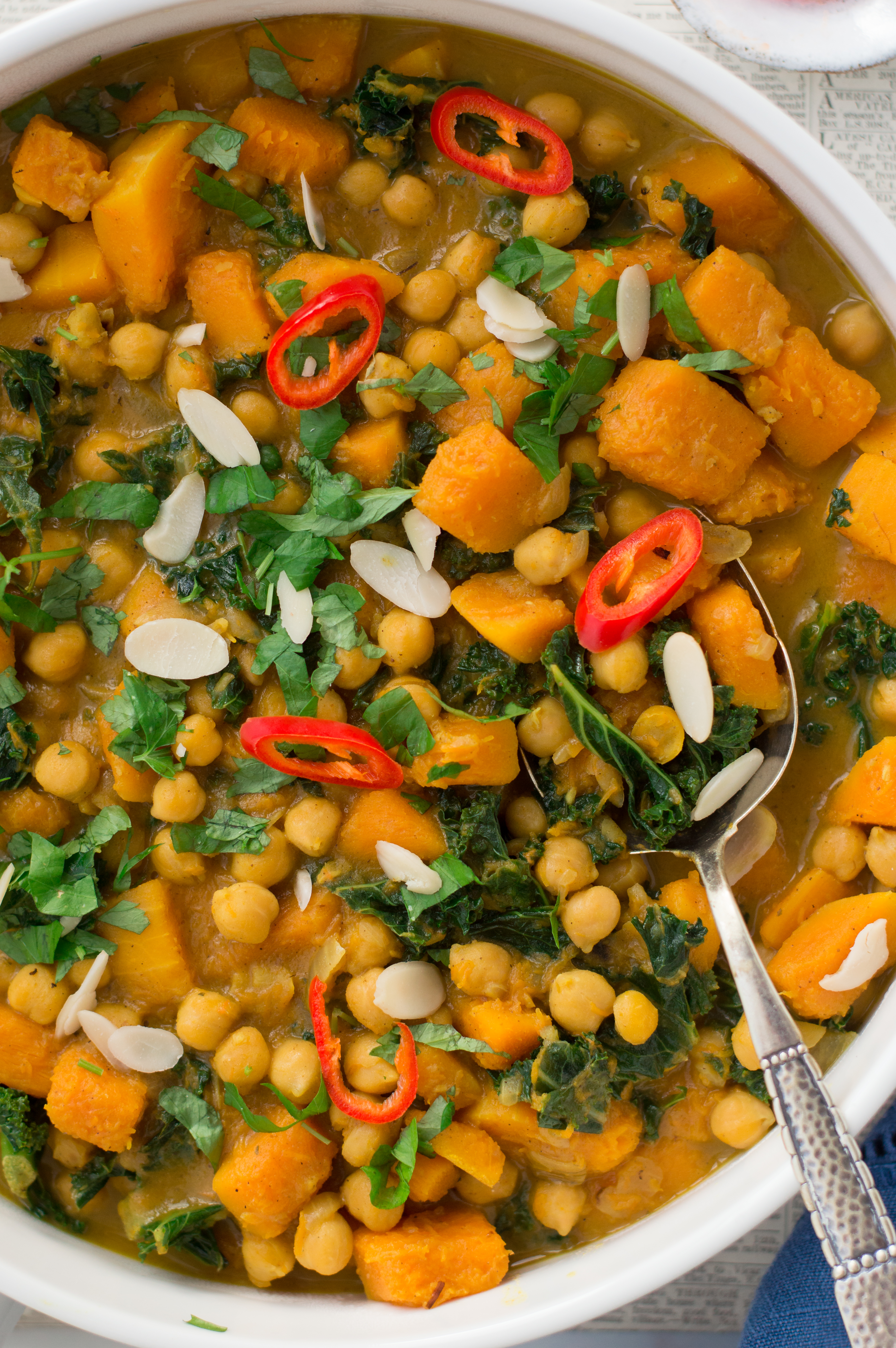 Easy butternut squash stew (vegan, gluten free)