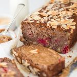 HEALTHY BANANA & RASPBERRY LOAF (VEGAN, GF, SUGAR FREE)