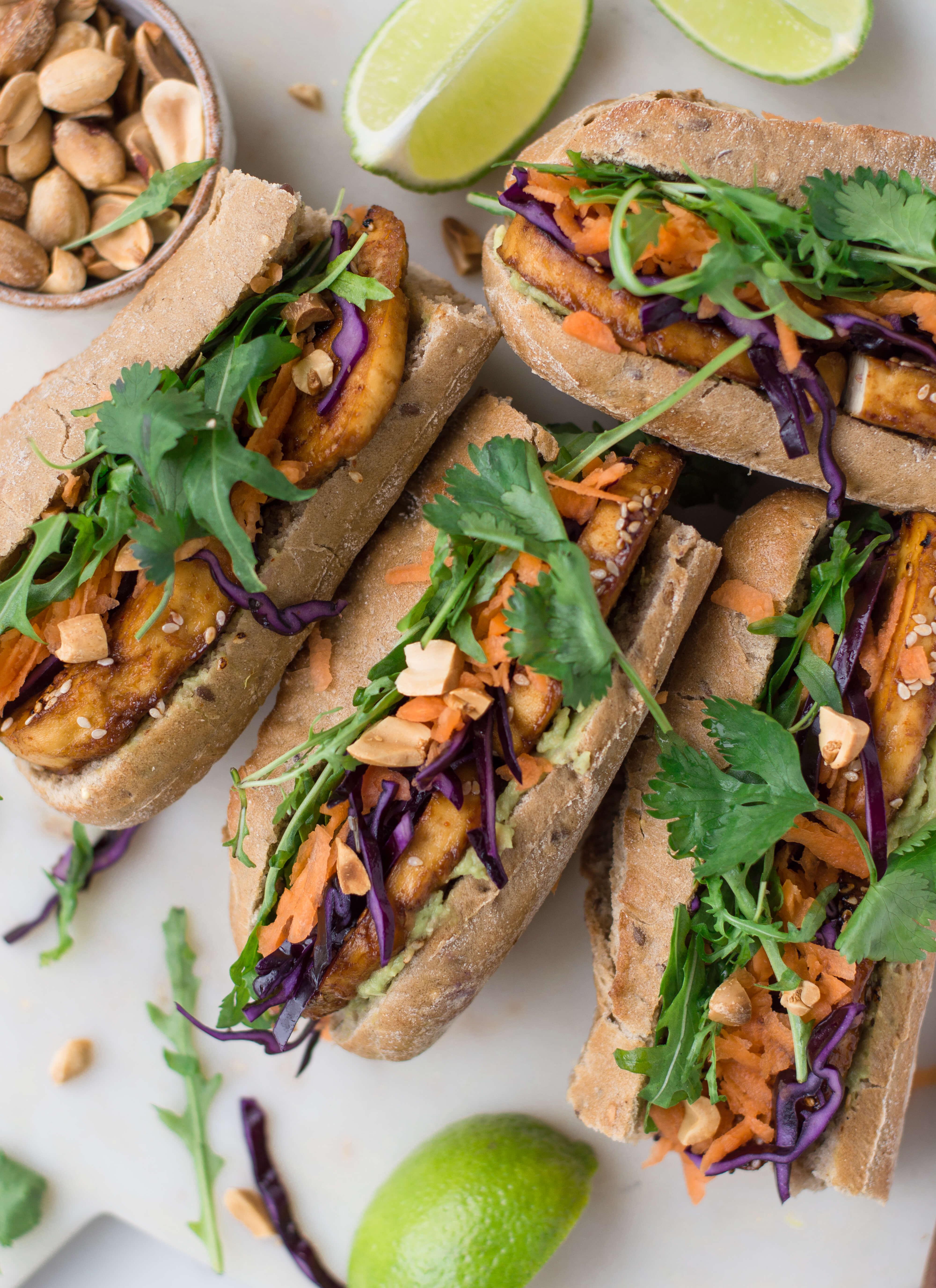 Vegan Tofu Sandwiches-5