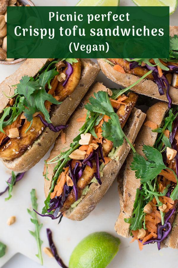 Vegan Tofu Sandwiches