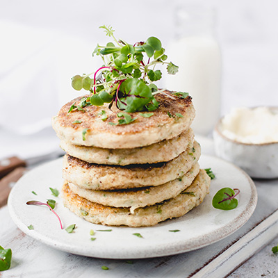 Vegan Potato Cakes